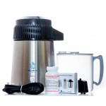 Deluxe Water Distiller  - Polyprop jug - UK 3 pin