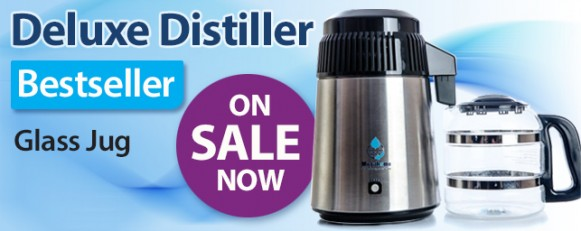 Deluxe Water Distiller - glass jug