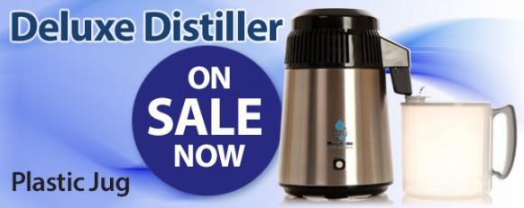 Deluxe Water Distiller - plastic jug
