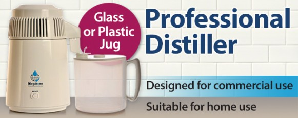 Pro Water Distiller - polyprop jug