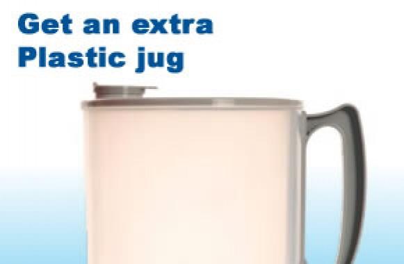 distiller plastic jug